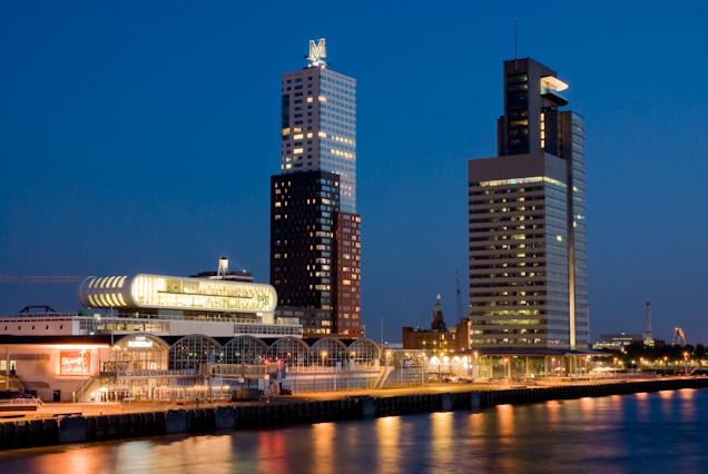 Foto Wilhelminakade, Rotterdam van Kurios