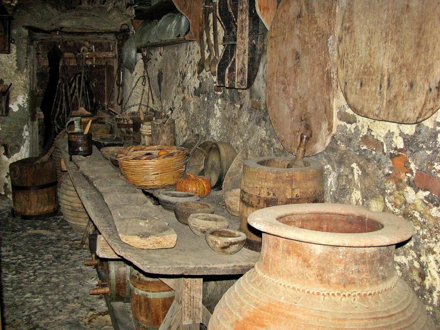Foto antieke keuken van stompy - Oude foto keuken ...