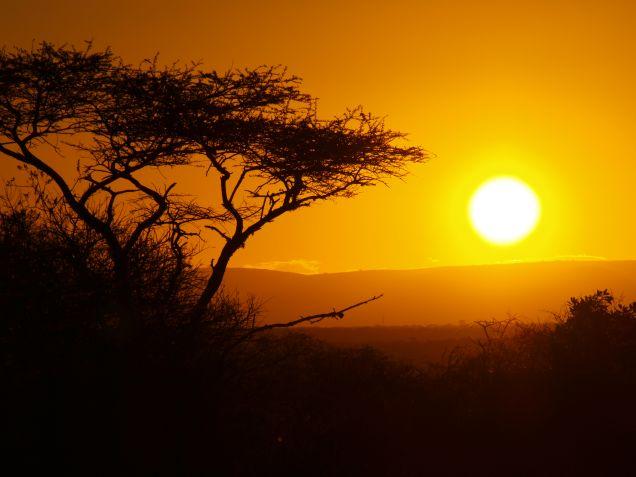 Zonsondergang tijden zuid afrika