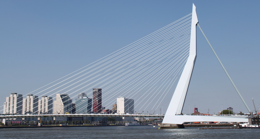 Foto Erasmusbrug Rotterdam Van Sylvana0902