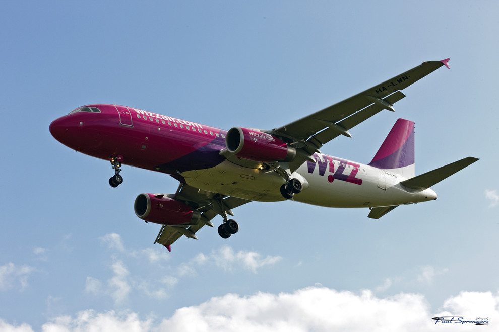 Foto Wizz Air door depaulus