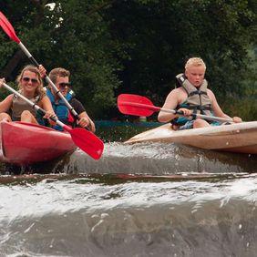 Begeleide kanotocht 18 km | Ourthe