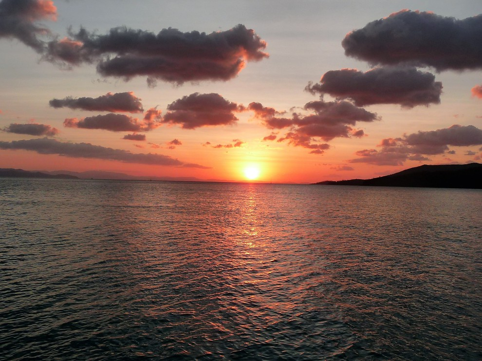 Foto Whitsunday sunset door Doomen