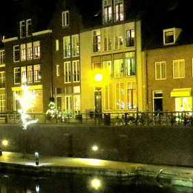 Foto Hulst by night ....... door OttoVosveld