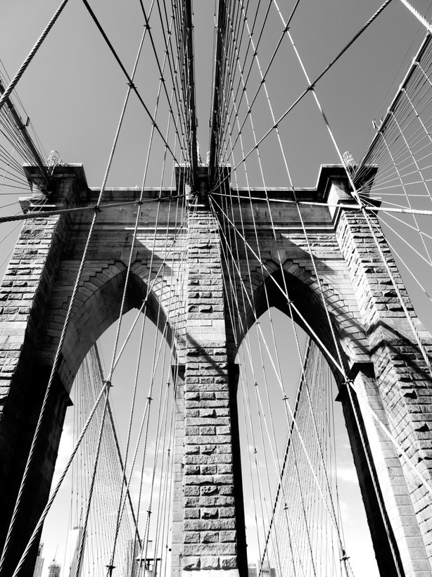 Foto Brooklyn bridge door Vira1505