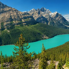 Foto Peyto Lake door Vivo