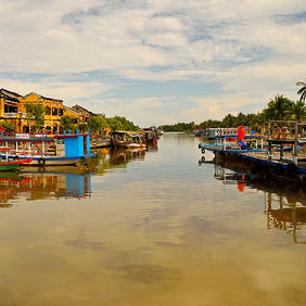 Foto The river in Hoi An door Qpic