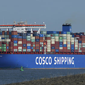 Foto COSCO SHIPPING ARIES door ARNOWEL