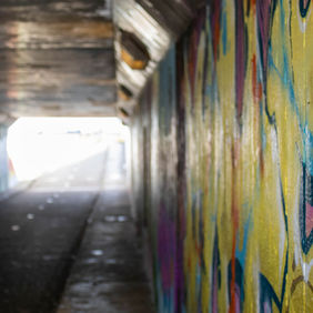 Foto Graffititunnel in Zoeterwoude door Fotobraafnl