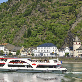Foto SANKT GOAR LORELEY door ARNOWEL
