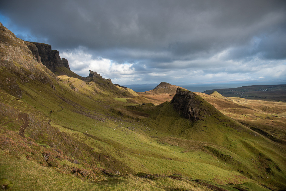 Foto Quiraing , Isle of Skye , Scotland door Wifocus