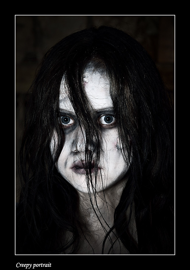 Foto Creepy portrait door Qpic