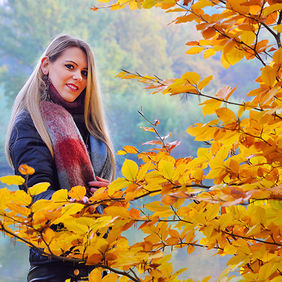 Foto Autumn shoot with Natascha door Qpic