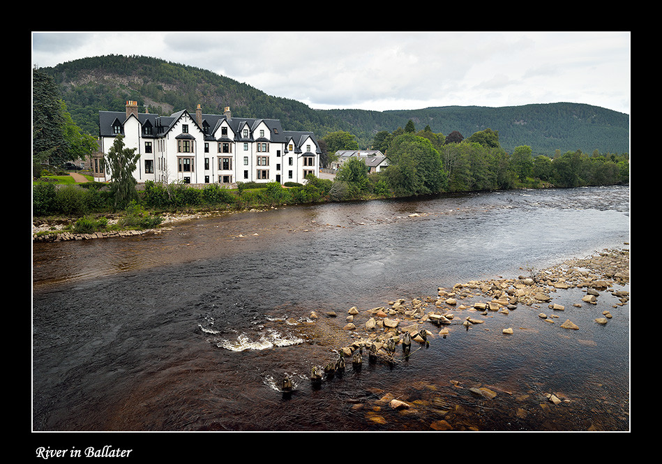 Foto River in Ballater door Qpic