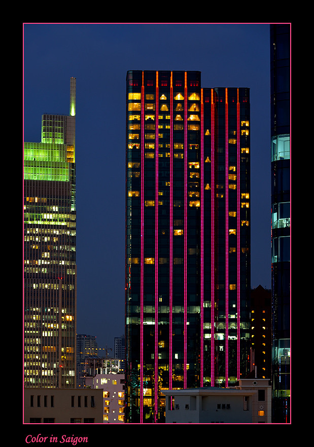 Foto Color in Saigon door Qpic