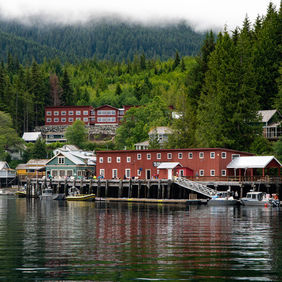 Foto Telegraph Cove, Vancouver Island door Richardb2
