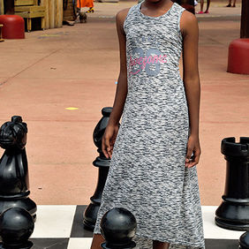 Foto Chess queen door Qpic