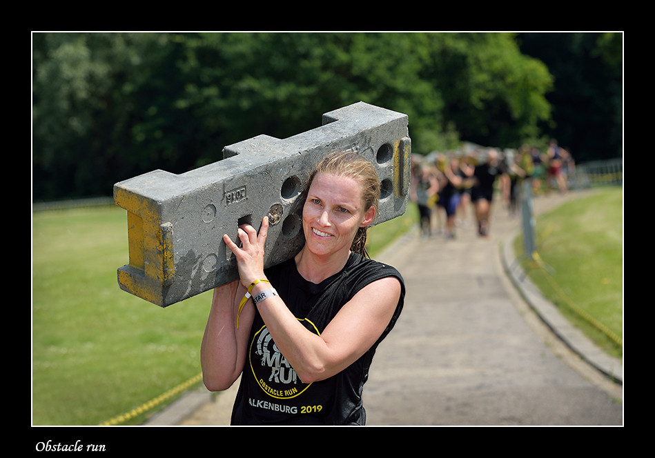 Foto Obstacle run door Qpic