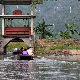 Foto Boat at Tam Coc door Qpic