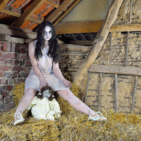 Foto In the hayloft door Qpic