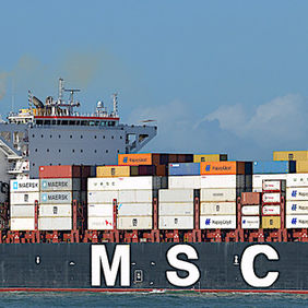 Foto MSC CATERINA door ARNOWEL
