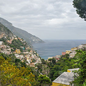 Foto Amalfi coast door Qpic